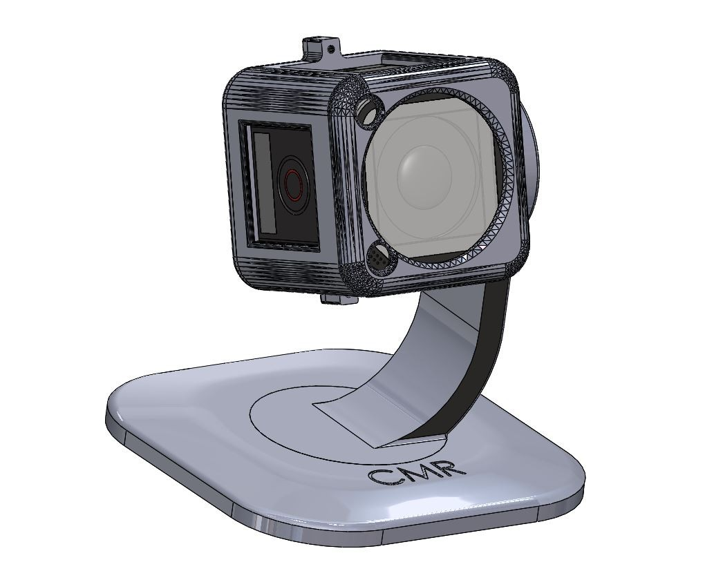 IoT Device Mount - GoPro stand (free download)