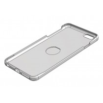 "iPhone 6+ case for 1"" Detent magnet (Free Download)"