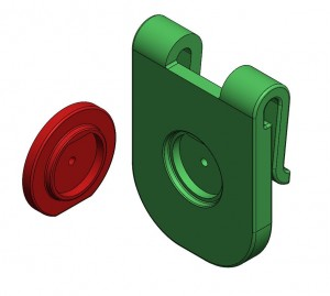 Belt Clip and Adapter for Twist release removal (free download)