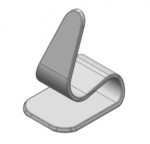 "Polymagnet Phone Stand for 1"" centering magnets (free download)"