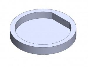"Mounting Socket 1"" Magnet Detent"
