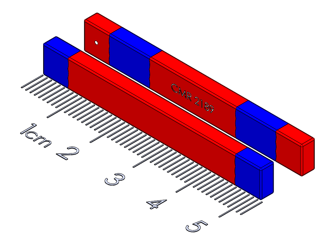 "Sliding Spring Latch - 2"" bar magnet"