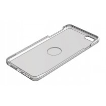 "iPhone 6+ case for 1"" centering magnet (Free download)"